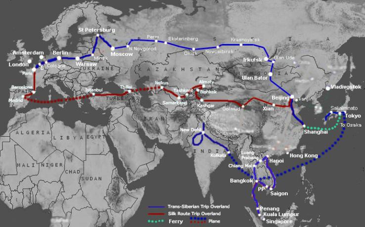 Trans-SiberianSilk Route